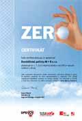 Certifikát Total Zero