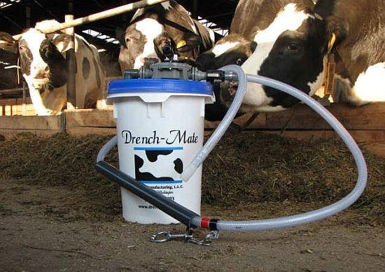 Nálevy pro krávy Drench-Mate
