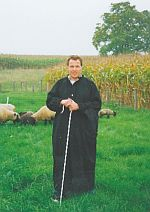 Fixační pomůcky pro ovce - obojky, ohlávky, ovčácké hole