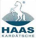 logo Haas - výrobce kartáčů pro koně