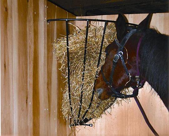 Jesle na seno pro koně
