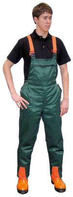 Dřevorubecké laclové kalhoty s ochranou proti proříznutí forma A