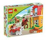 Lego - stáj pro koně - Duplo