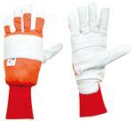 Lesnické rukavice s ochranou proti proříznutí