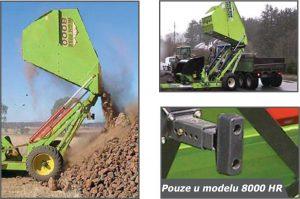 Sběrač kamenů se zvýšeným vyklápěním Schulte HR 8000 (2)