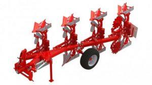 Nesené otočné pluhy určené pro traktory