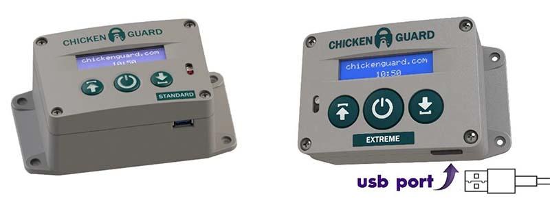 Aumatické otevírání a zavíraní kurníku Chicken Guard