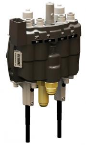 ErgoDriveje integrovaný hydraulický systém