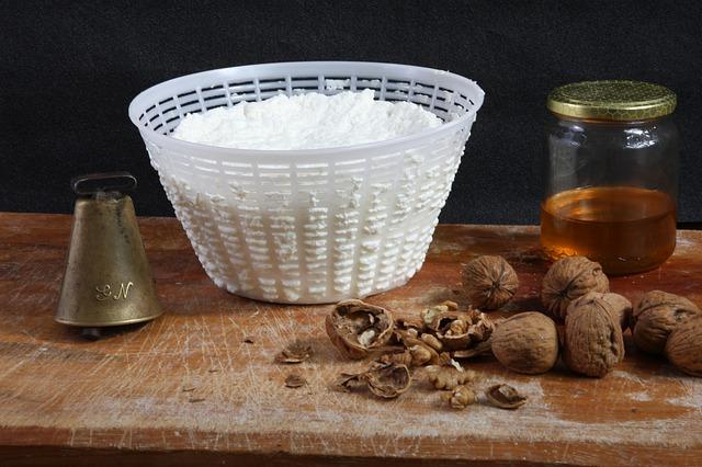 Recept na výrobu sýra Ricotta
