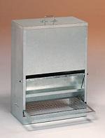 Nášlapné krmítko pro drůbež kapacita 40 kg
