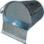 Napájecí kbelík plechový pro drůbež 10 litrů