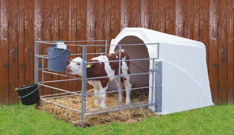 potřeby pro telata - calf house